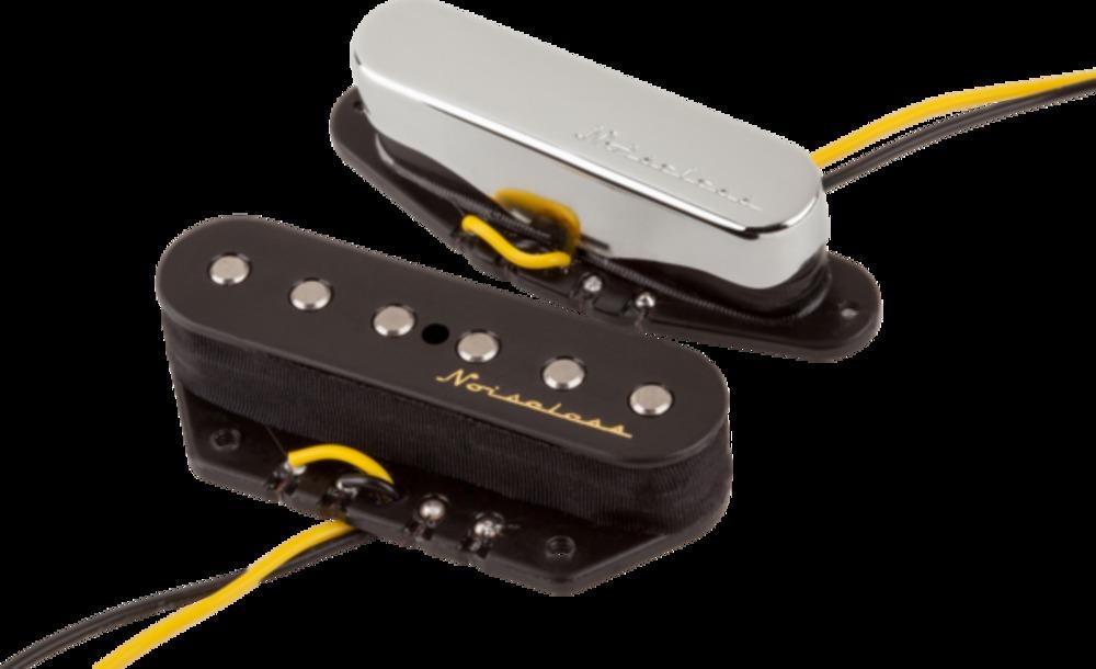 Fender vintage noiseless telecaster pickups