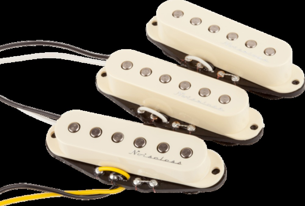 Fender Hot Noiseless Strat Pickups  Set Of 3