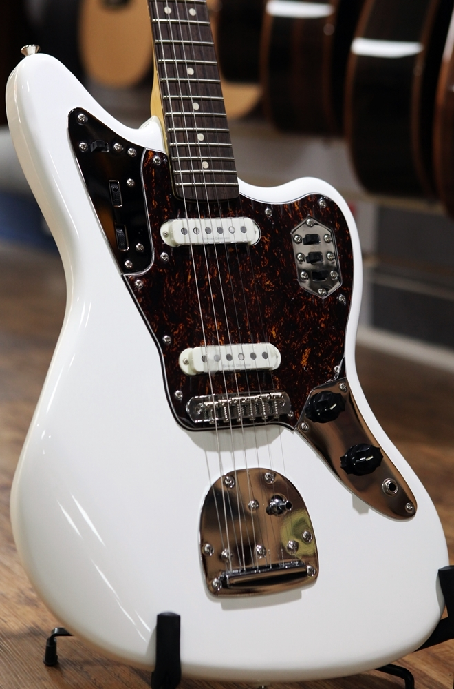 fender squier vintage modified jaguar rosewood fingerboard olympic. Cars Review. Best American Auto & Cars Review