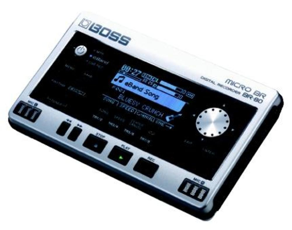 boss br80 handheld digital recorder micro br ebay. Black Bedroom Furniture Sets. Home Design Ideas