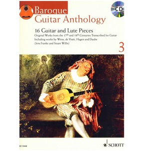 Baroque Guitar Anthology - Volume 3 - (with CD)