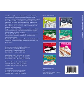 Recorder From The Beginning Book 1 Pupil's Book with CD