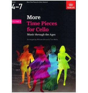 ABRSM More Time Pieces for Cello