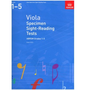 ABRSM Viola Sight-Reading 2012 Grades 1-5
