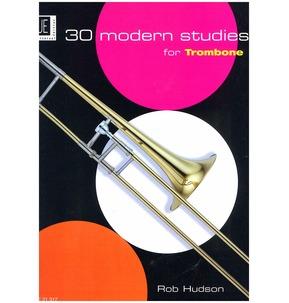 30 Modern Studies for Trombone - Rob Hudson