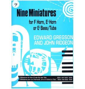 REDUCED! Nine Miniatures for Tuba Bass Clef