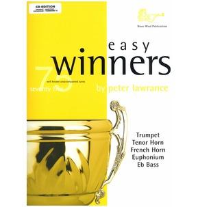 75 Easy Winners Book/CD - Trumpet/Cornet - Treble Clef