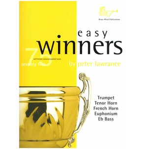 75 Easy Winners Book Only - Trumpet/Cornet - Treble Clef