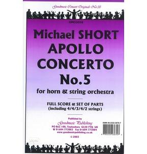 REDUCED PRICE Apollo Concerto No.5 - Horn & String Orchestra