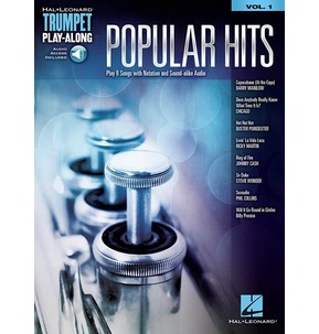 Popular Hits: Trumpet Play-Along (Book/Online Audio)