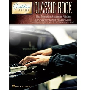 Creative Piano Solos: Classic Rock