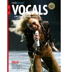 Rockschool: Vocals - Female (Book/Download) 2014-17 Grade 4