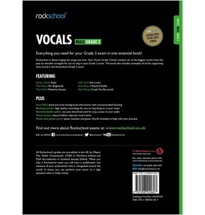 Rockschool: Vocals - Male (Book/Download) 2014-2017 Grade 2