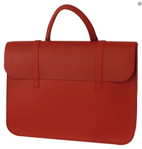 Leather Music Case Red
