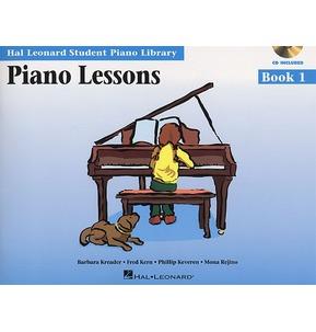 Hal Leonard Student Piano Library: Piano Lessons Book 1 (Book/CD)