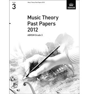 2012 Theory of Music Exams Papers ABRSM Grade 3