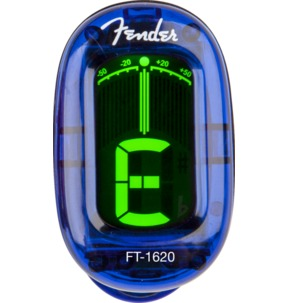 Fender CALIFORNIA SERIES CLIP-ON TUNER - LAKE PLACID BLUE