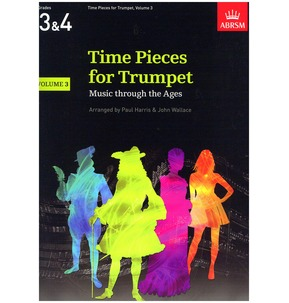 ABRSM: Time Pieces For Trumpet - Volume 3