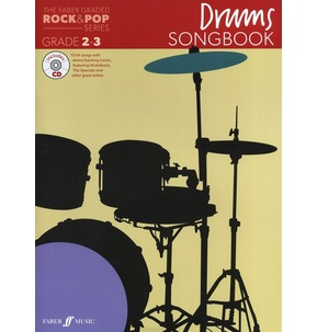 <u> REDUCED </u> Faber Graded Rock & Pop Songbook Drums Grades 2-3