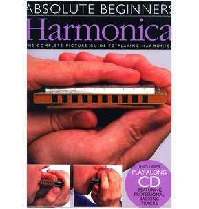 Absolute Beginners: Harmonica - Book/CD