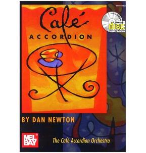 Cafe Accordion Book/CD by Dan Newton