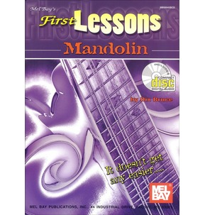 First Lessons Mandolin Book/CD by Dix Bruce
