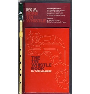 Irish Tin Whistle Red Pack by Tom Maguire