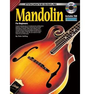 Progressive Mandolin For Beginners - Book/Play-Along CD