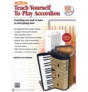 Teach Yourself To Play Accordion Book & CD