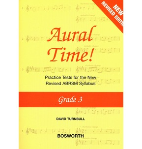 David Turnbull: Aural Time! Practice Tests - Grade 3