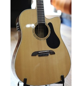 Alvarez AD70CE Artist Electro Acoustic Guitar, Natural