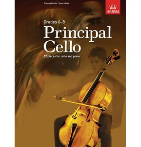 ABRSM: Principal Cello - book only