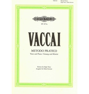 Nicola Vaccai: Metodo Pratico (High Voice)