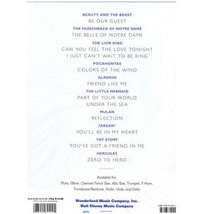 Disney Solos For Flute - Book/CD