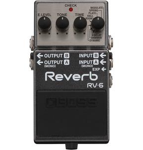Boss RV-6 Digital Reverb Guitar Effects Pedal