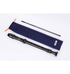 Aulos 303 Descant Recorder Supplied in Blue Case