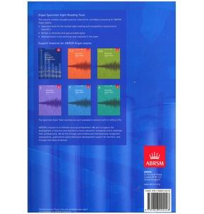 ABRSM Specimen Sight Reading Tests for Organ Grades 1-8 2011