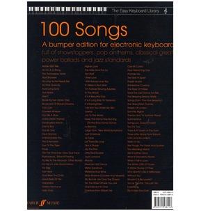 Easy Keyboard Library: 100 Songs ( Electronic Keyboard)
