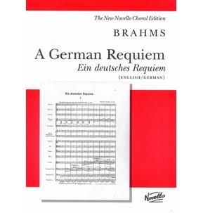 Johannes Brahms: A German Requiem (Vocal Score)