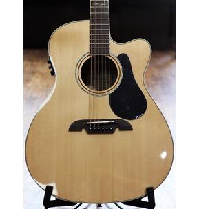 Alvarez AF60CE Artist Electro Acoustic Guitar, Natural