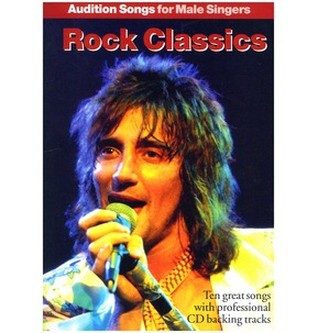 REDUCED! Audition Songs For Male Singers: Rock Classics