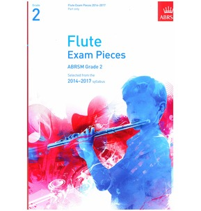 Flute Exam Pieces Part Only 2014-2017 ABRSM Grade 2