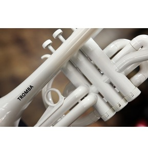 Tromba Plastic Cornet with Hard Case