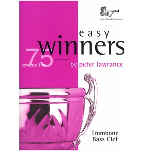 75 Easy Winners Book Only - Trombone - Bass Clef