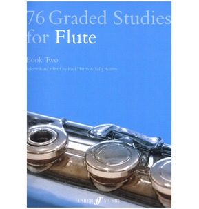 76 Graded Studies For Flute - Book Two