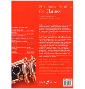 80 Graded Studies For Clarinet Book One