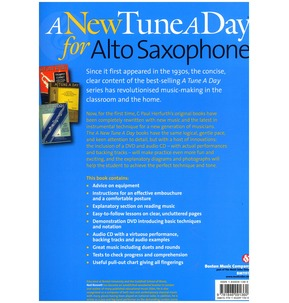 A New Tune A Day: Alto Saxophone - Book 1 (DVD & CD Edition)