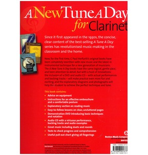 A New Tune A Day: Clarinet - Book 1 (DVD & CD Edition)