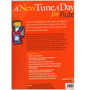 A New Tune A Day: Flute - Book 1 (DVD & CD Edition)
