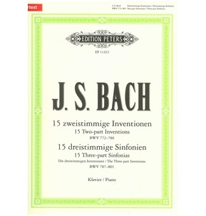 Bach: Inventions & Sinfonias (Piano)